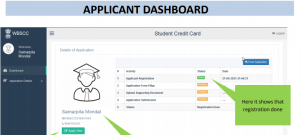 How to apply for student credit cardin west bengal?